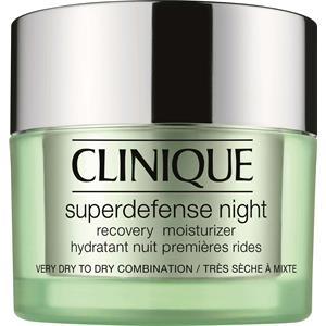 Clinique Hoito Kosteuttava hoito Superdefense Night Recovery Moisturizer ihotyyppi 1/2 50 ml