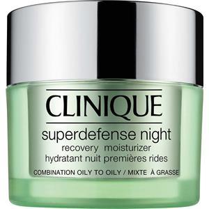 Clinique Hoito Kosteuttava hoito Superdefense Night Recovery Moisturizer Hauttyp 3/4 50 ml