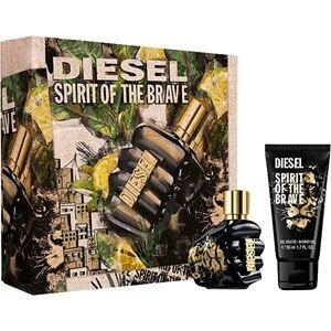 Diesel Miesten tuoksut Spirit Of The Brave Gift set Eau de Toilette Spray Pour Homme 35 ml + Shower Gel 50 ml 1 Stk.
