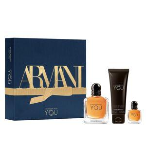 Giorgio Armani Emporio Armani Stronger With You EDT & Mini EDT & Showergel 50 ml + 7 ml + 75 ml Lahjapakkaus