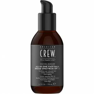 American Crew All In One Face Balm, All-In-One Face Balm SPF15 170 ml American Crew After Shave