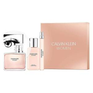 Calvin Klein Women Edp 100ml + Travelspray 10ml + Bodylotion 100ml Giftset