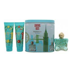 Anna Sui Romantica Exotica Presentset 50ml EDT + 100ml Body Lotion + 100ml Duschgel + Music Box