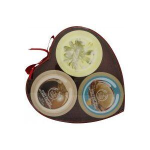 The Body Shop Nutty Sweetheart Body Butter Presentset 3 Delar