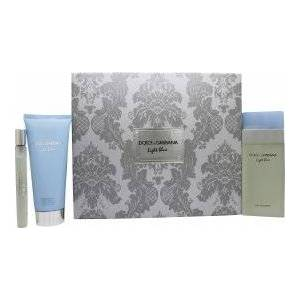 Dolce & Gabbana Light Blue Presentset 100ml EDT + 100ml Body Lotion + 10ml EDT