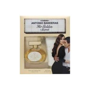 Antonio Banderas Her Golden Secret Presentset 80ml EDT + 75ml Body Lotion