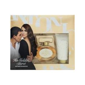 Antonio Banderas Her Golden Secret Presentset 50ml EDT + 50ml Body Lotion