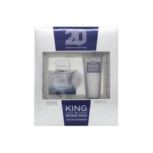 Antonio Banderas King Of Seduction Presentset 100ml EDT + 75ml Aftershave Balm
