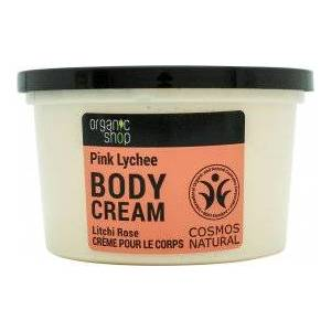 Organic Shop Pink Lychee & 5 Oils Body Cream 250ml