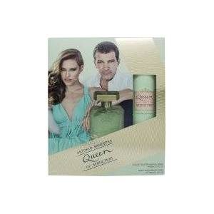 Antonio Banderas Queen of Seduction Presentset 80ml EDT + 150ml Deodorant Spray