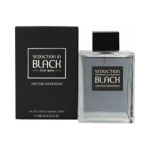 Antonio Banderas Seduction In Black Eau de Toilette 200ml Spray