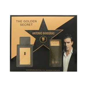 Antonio Banderas The Golden Secret Presentset 50ml EDT + 100ml A/Shave Balm
