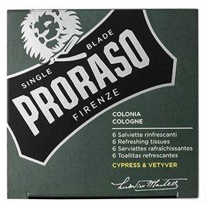 Proraso Beard Wipes Cypress & Vetyver 6 st