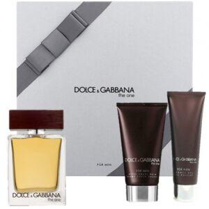 Dolce & Gabbana The One For Men Gift Set 50ml + 100ml + 75ml