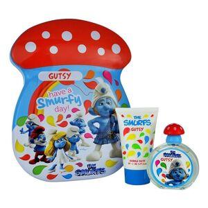 Disney The Smurfs Gutsy Giftset Edt 50ml  + 75ml Bubbelbath