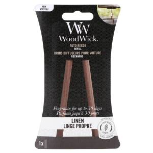 Woodwick Auto Reeds Refil - Linen
