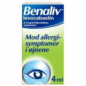 Benaliv 0,5 mg/ml 4 ml jendrber, suspension
