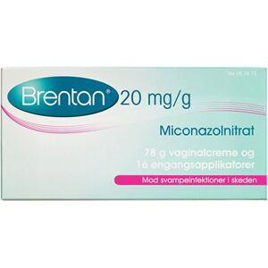 Brentan 20 mg/g (Hndkb, apoteksforbeholdt) 78 g Vaginalcreme
