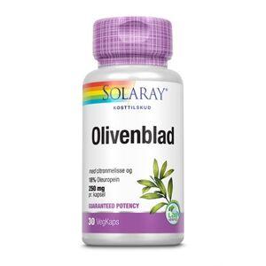 Solaray Olivenblad Ekstrakt Kosttilskud 30 stk