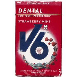 V6 Økopakke Strawberry Mint 70 g