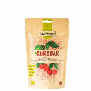 Rawpowder Økologisk Sure Kirsebær, 200 g