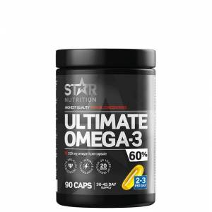 Star Nutrition Ultimate Omega-3, 90 kapsler, 60% 1000mg