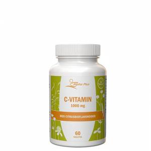 Alpha Plus C-vitamin Time Relase 1000mg, 60 tabletter
