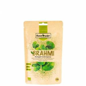 Rawpowder Brahmipulver ØKO, 125 g