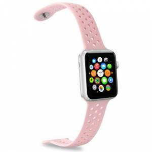 Apple Watch Silicone band Rosa