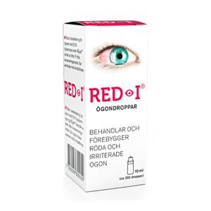 RED-I Ögondroppar 10 ml