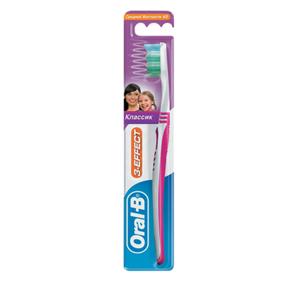 Oral-B 3-Effect Classic Medium Tandborste 1 st Tandborste