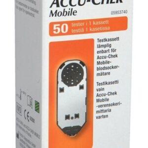 Accu-Chek Mobile testkassett 50 tester