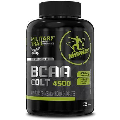BCAA Colt Ultra Concentrado Military Trail 240 Caps - Unissex