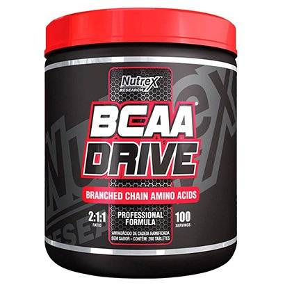 BCAA Drive 1000 mg - 200 Tabletes - Nutrex - Unissex