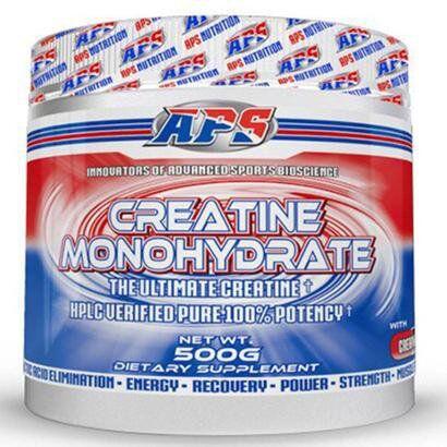 Creatine Monohydrate 500g - APS - Unissex