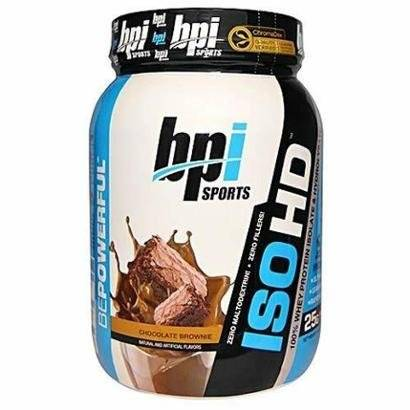 Iso HD Whey Protein - 2466g Chocolate Brownie - BPI - Unissex