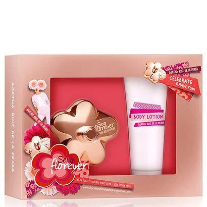 Kit Perfume Feminino Sexy Florever Agatha Ruiz de La Prada EDT 80ml + Body Lotion 75ml - Feminino