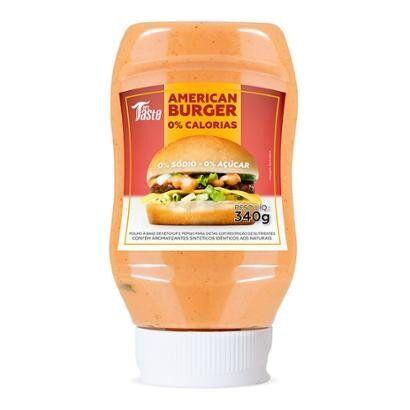 Molho American Burger Zero Sdio 340g - Mrs Taste - Unissex