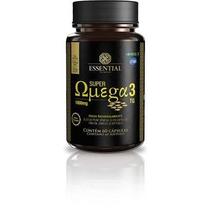 Super Ômega 3 TG 60 Cáps - Essential Nutrition - Unissex-Sem Sabor