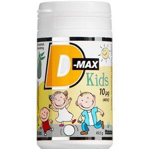 D-max Kids 10 g Kosttilskud 90 stk