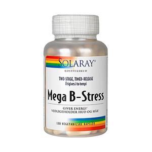SOLARAY Mega B-Stress Kapsler - SOLARAY