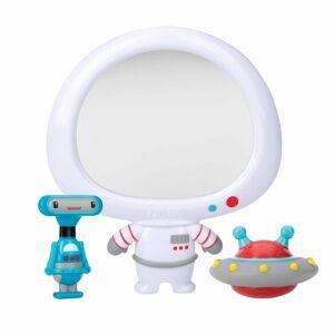 Babyspejl Til Bad - Sæt Med Robot Og Ufo - Nûby