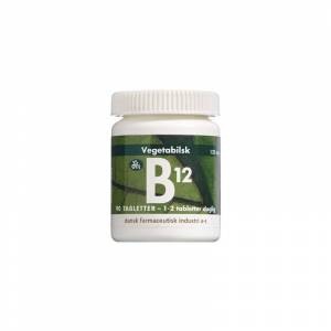 B12-vitamin 125 mcg 90 tabletter Vitaminpiller