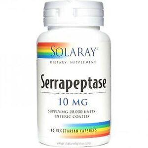 Solaray Serrapeptase 90 Capsules