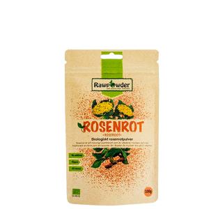 Rawpowder Rosenrot, Ekologisk Rosenrotpulver, 100 g
