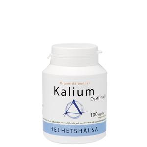 Helhetshälsa Kalium Optimal, 100 kapsler