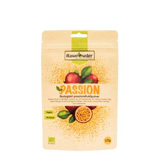 Rawpowder Passion, Ekologiskt Passionsfruktpulver, 125 g