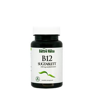 Bättre Hälsa B12 sugetablett, 60 tabletter