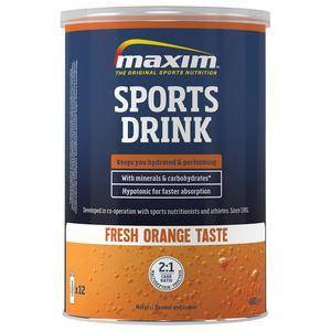 MAXIM Hypotonic Sports Drink Orange - 480g