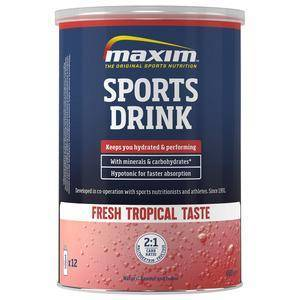 MAXIM Hypotonic Sports Drink (Tropical) - 480g